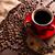 tazza · di · caffè · tela · ruvida · fagioli · rustico - foto d'archivio © grafvision