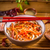 saboroso · chinês · refeição · tigela - foto stock © grafvision