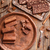 peças · dois · isolado · branco · comida · deserto - foto stock © grafvision