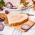 ev · yapımı · ekmek · taze · peynir · sarımsak · tablo - stok fotoğraf © grafvision