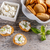 requesón · brindis · rebanadas · frescos · crema · queso - foto stock © grafvision