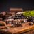шоколадом · салями · Top · мнение · Печенье · десерта - Сток-фото © grafvision