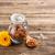 propoli · vetro · jar · rustico · legno · fiore - foto d'archivio © grafvision