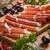 スライス · イタリア語 · ハム · 木板 · サンドイッチ · ワイン - ストックフォト © grafvision