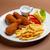 фри · куриные · красный · мяса · быстро · еды - Сток-фото © grafvision