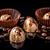 finom · csokoládé · háttér · cukorka · fekete · sötét - stock fotó © grafvision