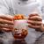 glas · drogen · ijs · drinken · effect · achtergrond - stockfoto © grafvision