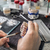 dental technician applying ceramics stock photo © grafvision
