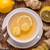 jengibre · té · superior · vista · taza · alimentos - foto stock © grafvision