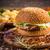 taze · lezzetli · Burger · patates · kızartması · peynir · yemek - stok fotoğraf © grafvision
