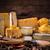 caseiro · vaca · queijo · alho - foto stock © grafvision