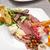 hideg · sült · disznóhús · étel · konyha · főzés - stock fotó © grafvision
