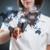 üzletasszony · kisajtolás · virtuális · üzenetküldés · ikonok - stock fotó © grafvision