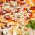bütün · pepperoni · pizza · yalıtılmış · beyaz - stok fotoğraf © grafvision