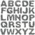アルファベット · 孤立した · 白 · 建設 · ツール - ストックフォト © grafvision