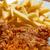 ali · alimentare · pollo · blu · cena - foto d'archivio © grafvision