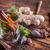 gengibre · de · chá · fresco · tabela · sol - foto stock © grafvision