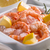 préparé · crevettes · plateau · citron · persil · vertical - photo stock © grafvision
