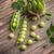taze · yeşil · bezelye · rustik · ahşap · masa · doku - stok fotoğraf © grafvision