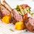 ягненка · служивший · мяса · картофеля - Сток-фото © grafvision
