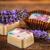 levendula · klasszikus · fából · készült · étel · csokoládé · desszert - stock fotó © grafvision