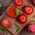 paradicsomlé · friss · paradicsomok · üveg · bögre · acél - stock fotó © grafvision