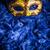 venedik · karnaval · maske · mavi · tüy · arka · plan - stok fotoğraf © grafvision