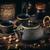 ázsiai · vasaló · tea · szett · klasszikus · stílus - stock fotó © grafvision