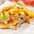 kotlett · disznóhús · krumpli · étel · hús · ebéd - stock fotó © grafvision
