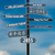 誤った · 方向 · 道標 · 金属 · 道路 - ストックフォト © grafvision