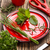 frissen · gyógynövények · öreg · antik · olló · fa - stock fotó © grafvision