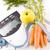 cenouras · maçã · objetos · branco - foto stock © grafvision
