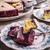 bolo · de · queijo · fundo · bolo · escuro · doce - foto stock © grafvision