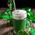 聖パトリックの日 · 緑 · フル · 冷たい · 冷ややかな · ガラス - ストックフォト © grafvision