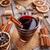 вино · оранжевый · Ломтики · корицей · дерево · очки - Сток-фото © grafvision