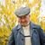 портрет · зрелый · человек · мышления · улыбаясь · изолированный · белый - Сток-фото © grafvision
