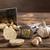 kruidnagel · knoflook · licht · grijs · schaduw · landschap - stockfoto © grafvision