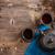vasaló · ázsiai · stílus · felső · kilátás · teáskanna - stock fotó © grafvision