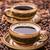kettő · csészék · kávé · kávé · csésze · ötlet - stock fotó © grafvision