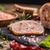 ternera · rodar · carne · de · vacuno · carne · hierbas · alimentos - foto stock © grafvision