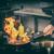 chef · restaurante · cocina · estufa · pan · fuego - foto stock © grafvision