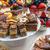 休日 · デザート · 表 · カボチャ · パイ · ホイップクリーム - ストックフォト © grafvision