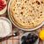krep · üst · görmek · mutfak · masası · mutfak · plaka - stok fotoğraf © grafvision