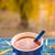 秋 · 茶 · 表 · 庭園 · 務め · 花 - ストックフォト © grafvision