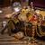 сокровище · натюрморт · деревянный · стол · роскошь · средневековых - Сток-фото © grafvision