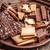bisküvi · çikolata · salam · tatlı · ahşap · kek - stok fotoğraf © grafvision