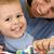 jongen · tanden · ochtend · tandenborstel · glimlach · gezicht - stockfoto © grafvision