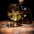 conhaque · brandy · vidro · ice · cube · beber · conselho - foto stock © grafvision