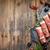 prosciutto · top · ruimte · groene - stockfoto © grafvision