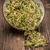 mosterd · zaden · plaat · geïsoleerd · witte · voedsel - stockfoto © grafvision